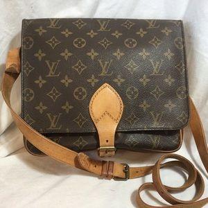 Authentic Louis Vuitton Cartouchiere GM Handbag